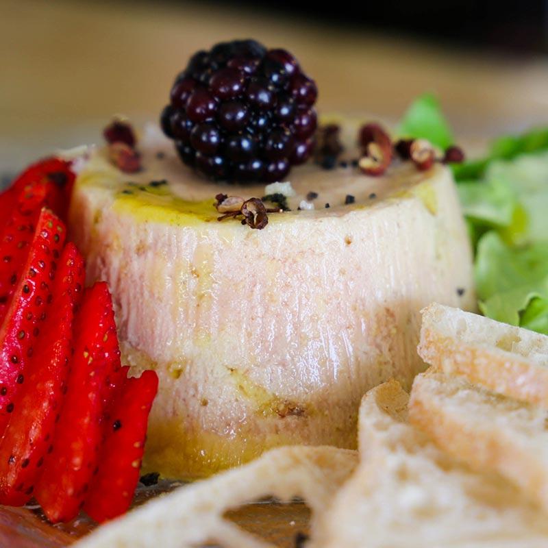 foie micuit d'elaboració artesana amb figues