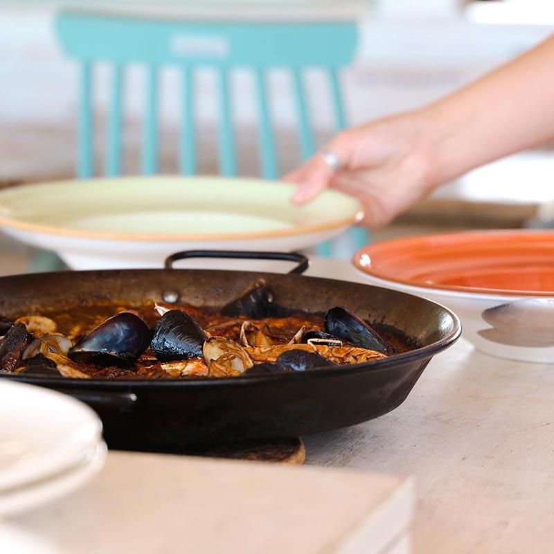 paella-restaurant-platja-calella-mar