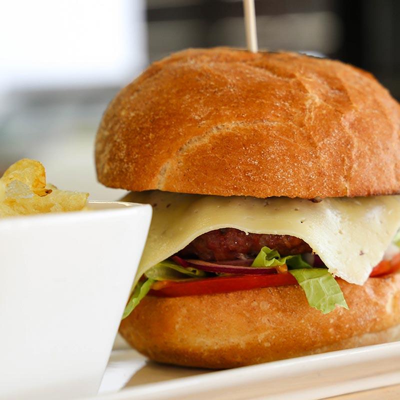 hamburguesa completa de vedella