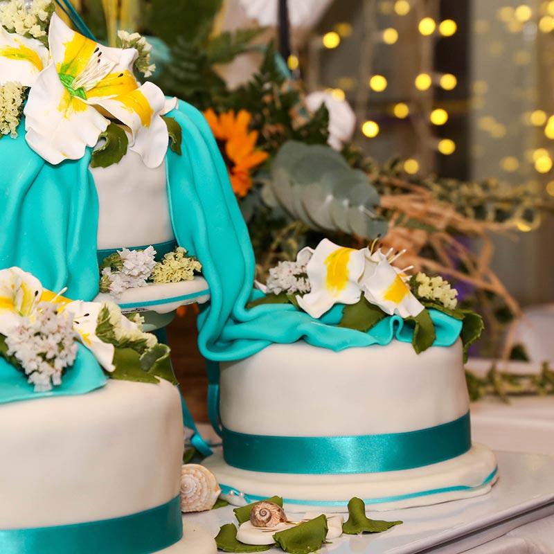pastís boda calella