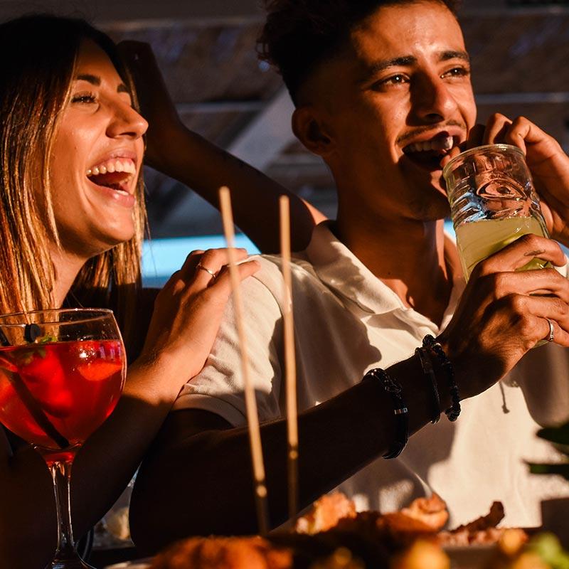 sopar-coctels-xiringuito-platja-calella