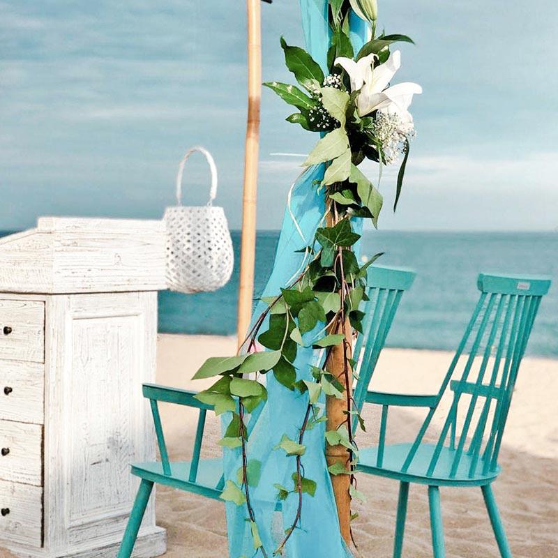 casarse en playa calella
