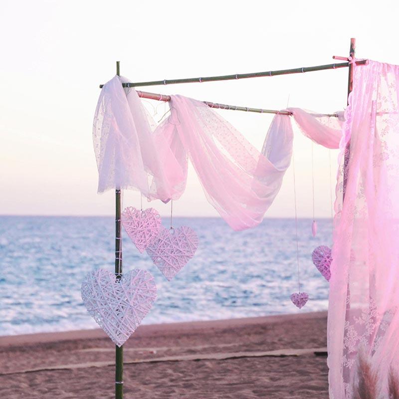 boda playa calella