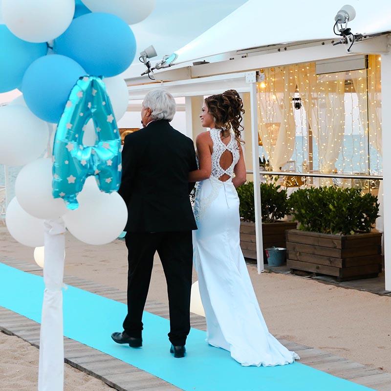 casament platja maresme