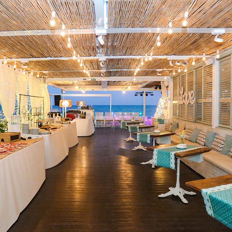 decoración bodas nui beach