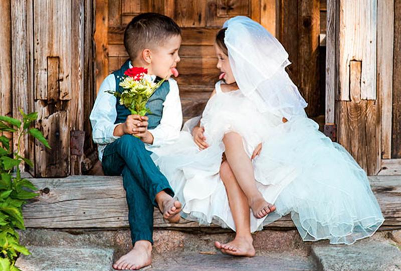 servei de cangur nens casament
