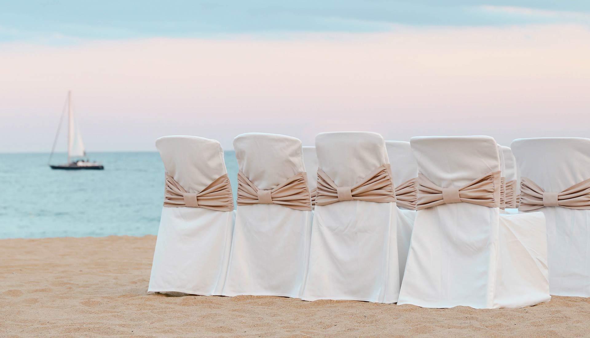 boda playa calella nui beach