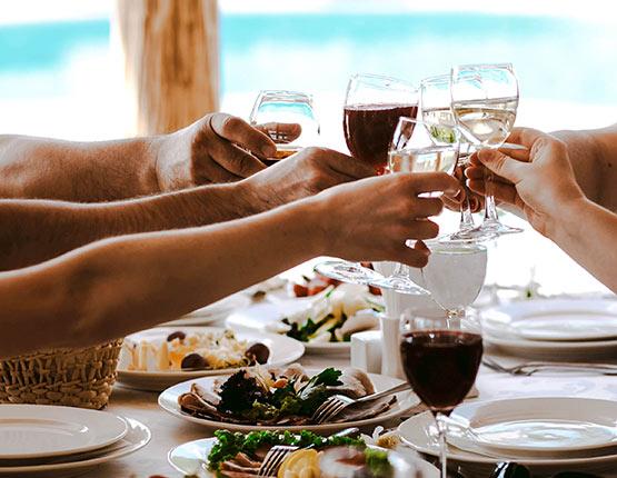 cenas y comidas empresa calella